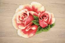 Защелка для самостоятельной сборки наборы крючков наборы ковров наборы гобеленов с цветочным принтом холст Инструменты Аксессуары для дом...(Китай)