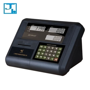 Lcd display printing function weight scale indicator