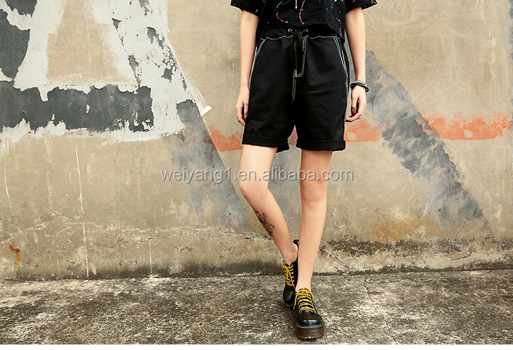 2016 new style summer Hongkong style loose short trousers
