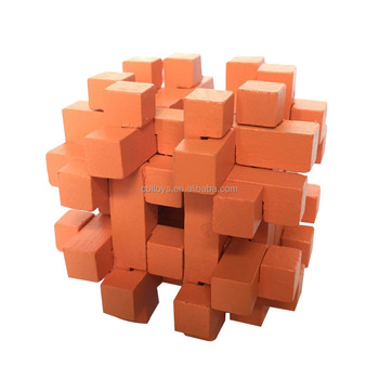 wooden carrier mind game adult puzzle educational toys