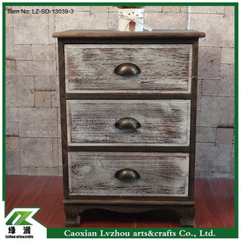 antique wood storage cabinet with drawers and doors