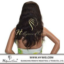 Indian remy human hair lace front wig,the best price from factory directly