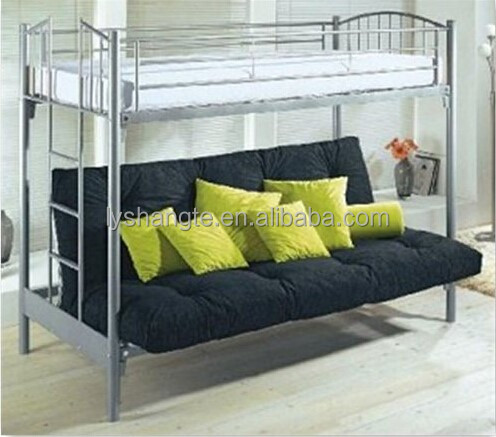 Attractive Fashionable Double Decker Metal Pipe Sofa Bed Frame   Buy Double Decker  Metal Bed Frame,Metal Sofa Bed Frame,Metal Bed Frame Product On Alibaba.com