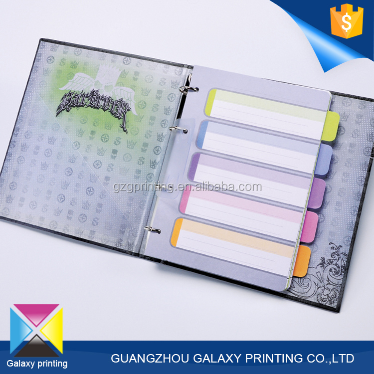 Promotional gifts items moleskine notebook wholesale hardcover printing custom school notebook with wire-o binding