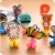 silicone rubber toothbrush holder, Whosale OEM silicone different animal toothbrush holder for children gifts