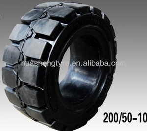 200/50-10 China solid OTR tires best solid tyres manufacture