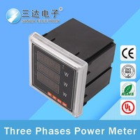 3 phase 4wire intelligent watt hour meter, wiring diagram of single-phase motor positive and negative revolution