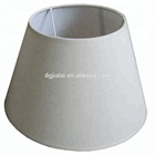 Bell shape fabric table lamp shade jesus light switch cover