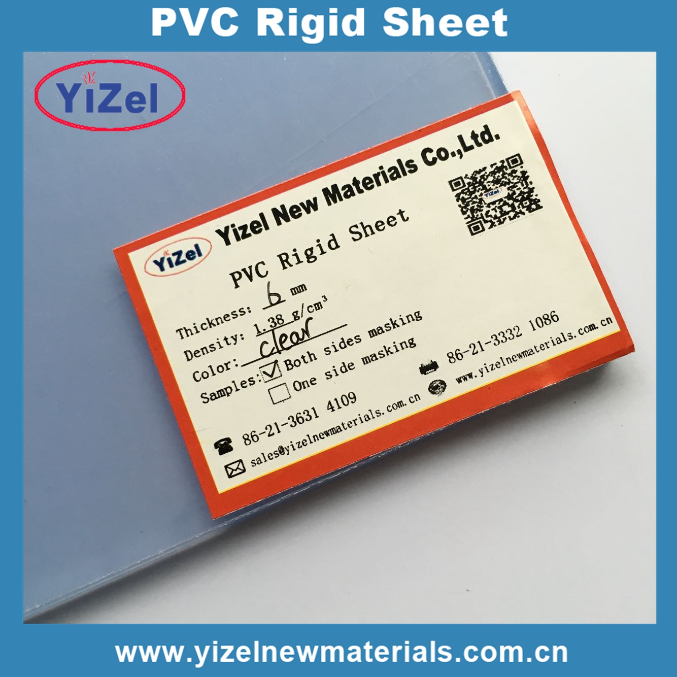 Brand new pvc transparent inkjet printing sheet