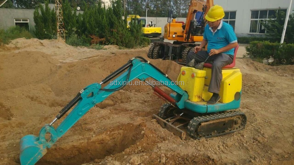 Mini Excavator Micro Excavator XN08 with engineer available over sea service