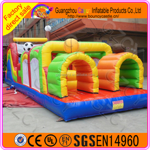 Commercial use inflatable obstacle race for outdoor entertainment