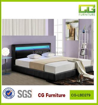 2015 moderni a buon mercato in pelle led telaio del letto mobili camera da letto e lbd279 buy - Telaio del letto ...