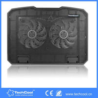 Custom cheap 15 inch Foldable Adjustable Notebook Laptop and Table Stand Desk Cooling Fan
