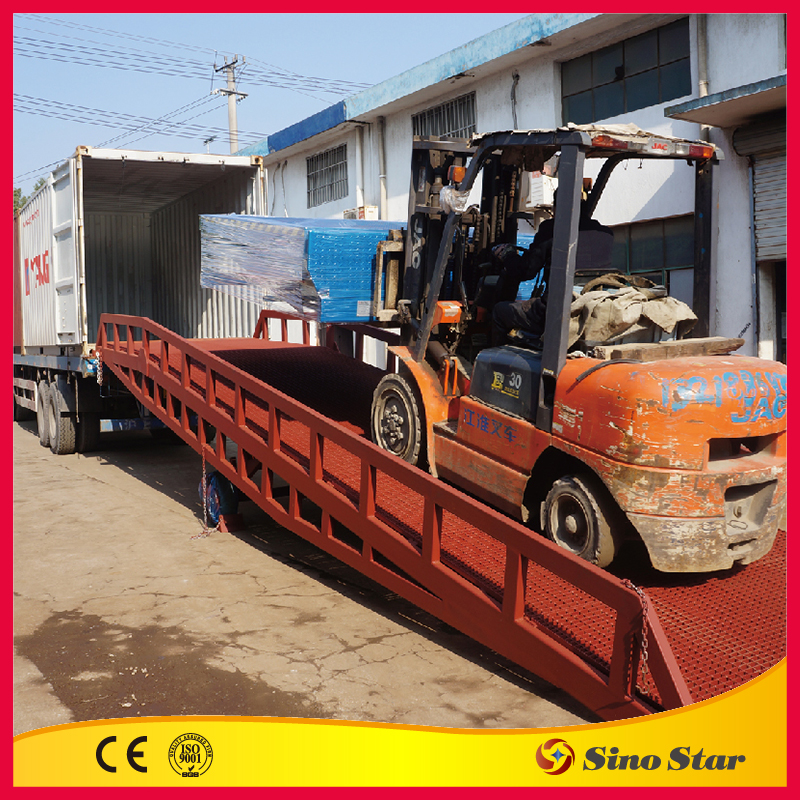 container hydraulic mobile working platform( SS-DCQ8)