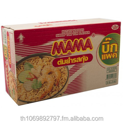MAMA Instant Noodles Big Pack Flavor Tom Yum Shrimp 90 g Pack 24