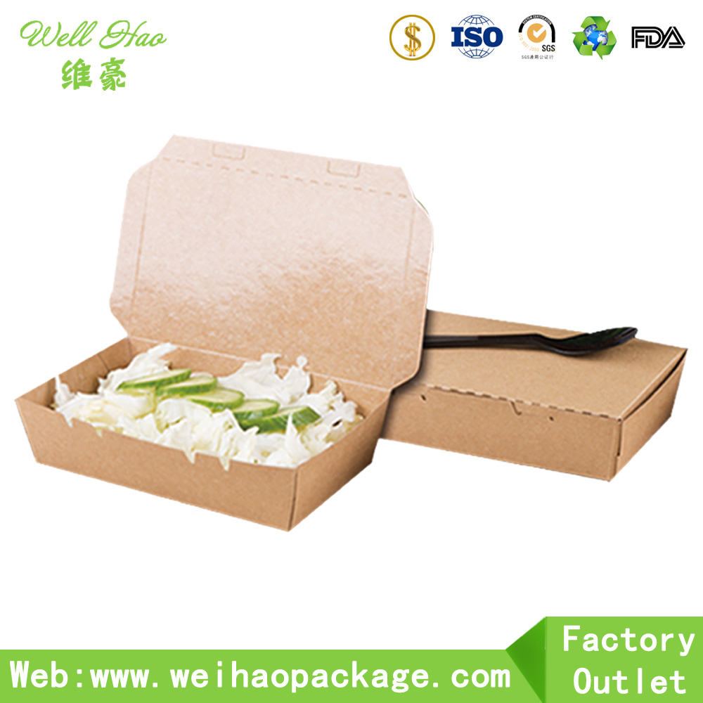 Custom printed disposable paper craft box for food packaging buy custom printed disposable paper craft box for food packaging jeuxipadfo Gallery