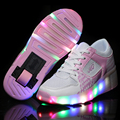 Led Lights Children Heelys Sneakers Shoes with Wheels Kids Roller Shoes Boys Girl Sneakers Zapatillas Con
