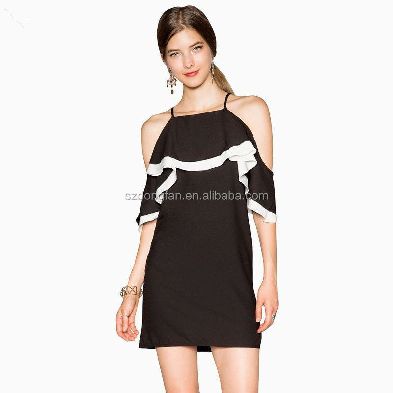 fc737ac9c6d New Style Prom Dresses Off Shoulder Sweet Black Party Dresses For Girls Of  18 Years Old