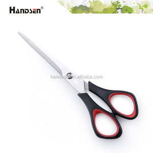 "New 6-1/4"" rubber grip handle left scissors"