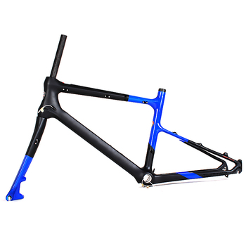 Chinese Supplier Height 40cm Road Bicycle Carbon Frame Bb92 With ...