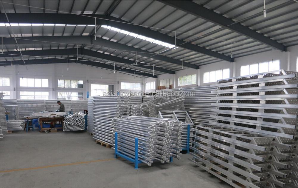 4 Aluminum Rolling Scaffold : Light weight aluminum rolling scaffolding ladder