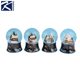 Wholesale handmade factory direct resin christmas Musical Water Globe