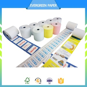 customized preprinted wrapping premium quality thermal paper rolls manufacturer