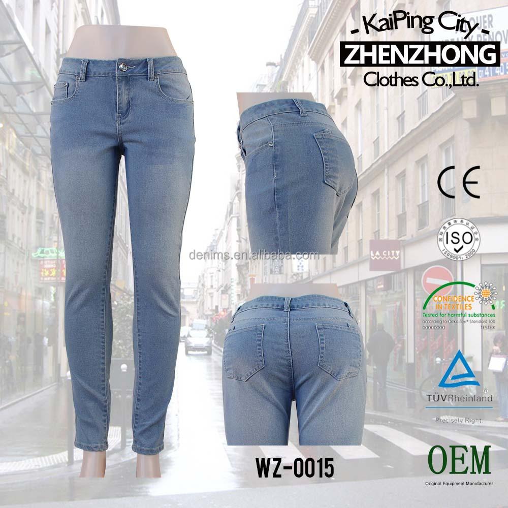 New Open Crotch Jeans Picture Women Sex Long Jean