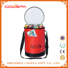 Insulated carry drink round cooler bags , large round cooler bag
