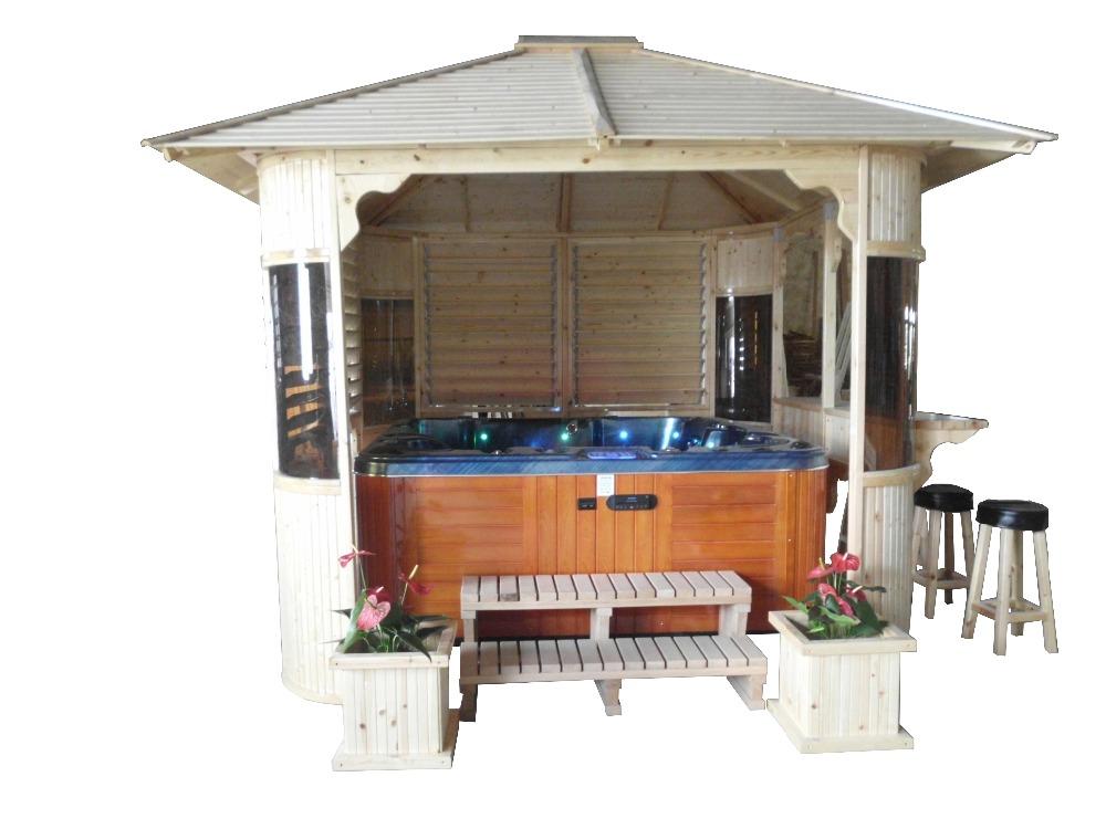 2016 hei er verkauf china fabrik outdoor whirlpool pavillon holzpavillon garten pavillon zum. Black Bedroom Furniture Sets. Home Design Ideas