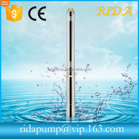 RIDA 0.5HP~5.5HP Submersible water pumps 3 inch deep well water pump for garden and irrigation