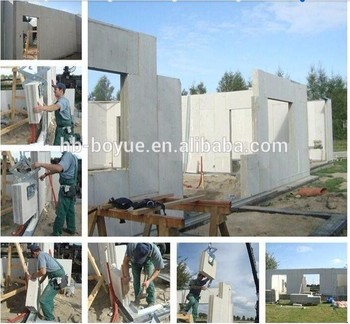 Removable Light Weight New Material Eps Cement Sandwich Kitchen Wall Panel System
