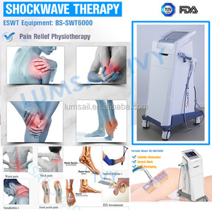 Chiropractic shock wave therapy chiropractic adjustment body pain relief rehabilitation device