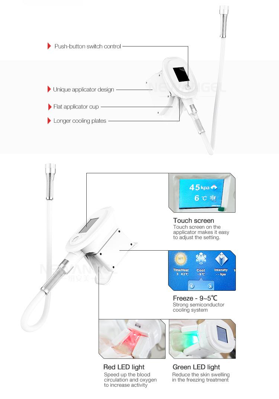 Многофункциональный жирной заморозки двойной подбородок 7 ручек аппарат для криолиполиза