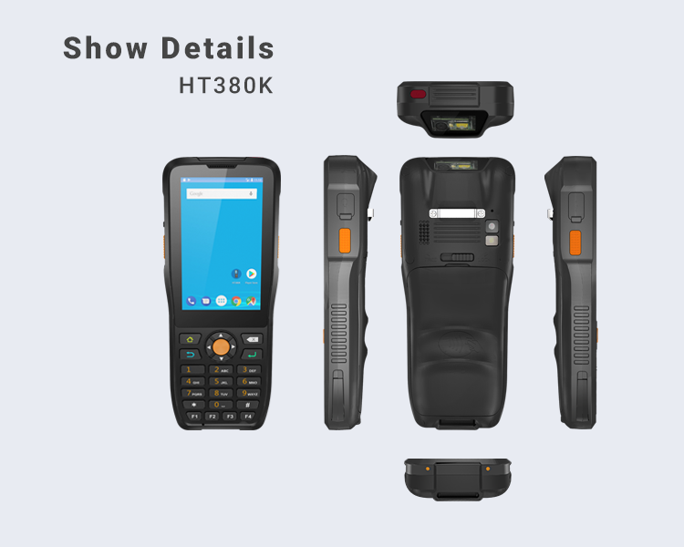 Android 6.0 Rugged Octa Cores Handheld 4G Wifi GPS NFC Reader 1D 2D Barcode Scanner Android Pda
