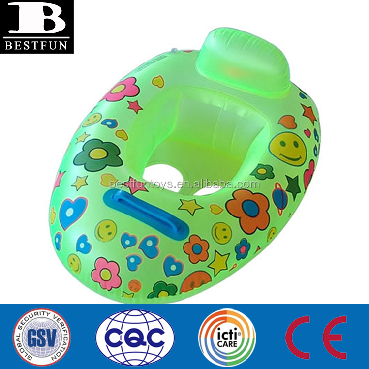Swimming Pool & Accessories Baby Swimming Kid Inflatable Safety Handle Seat Float Swim Raft Chair Swimming Toy