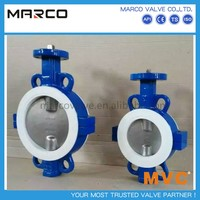 Professional supply worm gear and actuator operated dn300 12 inch butterfly valve or others