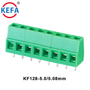 5.0 5.08mm pcb screw terminal block KF128 - 5.0 / 5.08mm