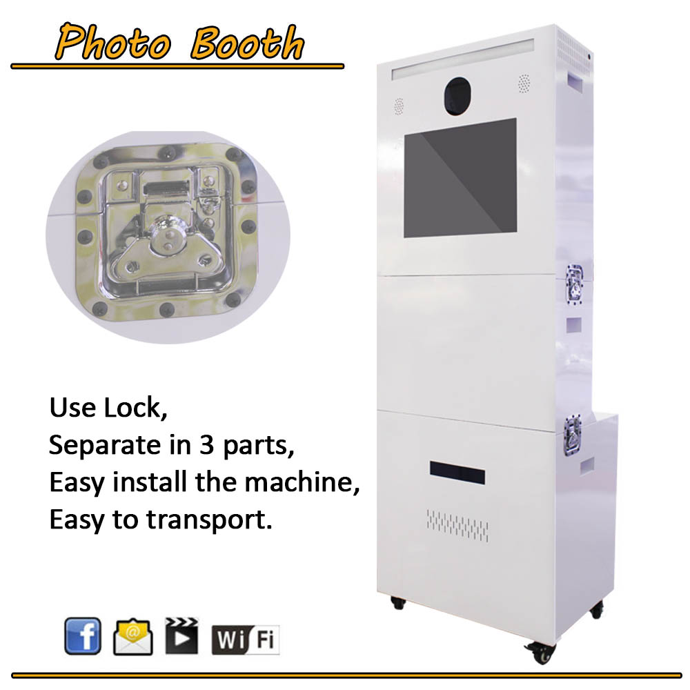Rental Business Photo Booth With photo booth case Portable Photo booth Malaysia