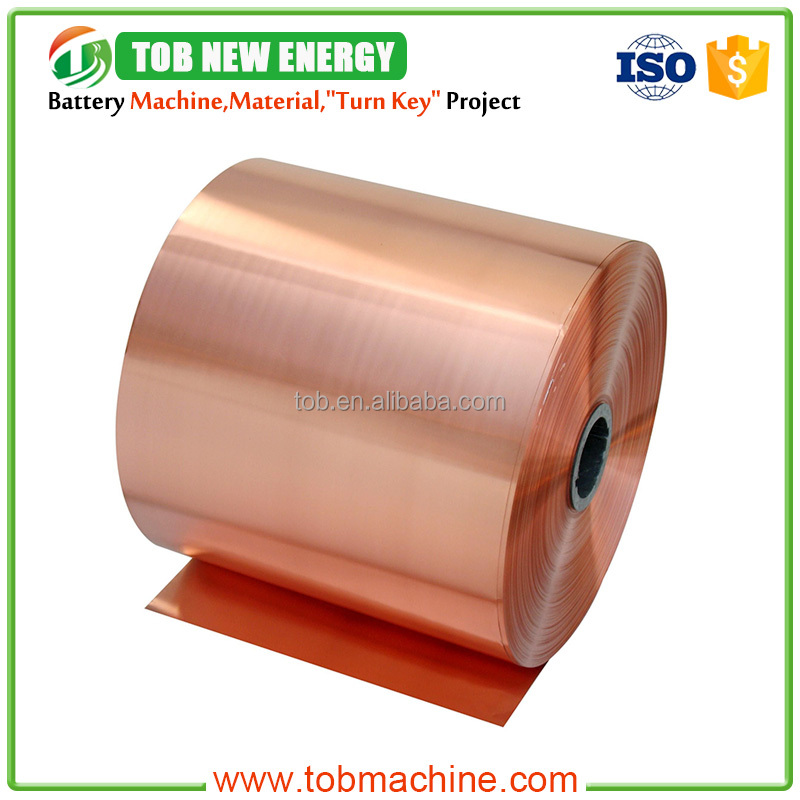High Quality Electrolytic Copper Foil For Li-ion Battery Raw Materials