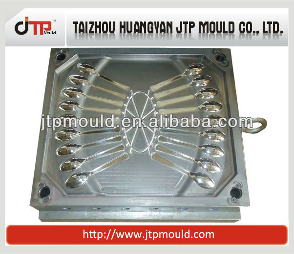18 cavtiy plastic cutlery mould and disposable plastic spoon mold