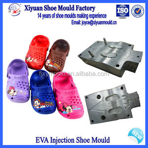Hot Design Kids Garden Shoes Plastic Injection Mold Maker