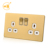 UK multi function double electrical 13a switch socket outlet