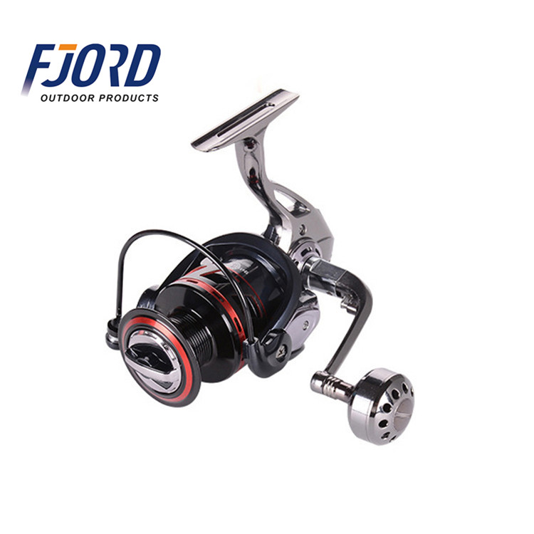 FJORD High end and best price full aluminium alloy body spinning fishing reel, Same as picture or customized