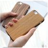 Soft shockproof hybrid phone case for iphone 6 plus cover case tpu wood