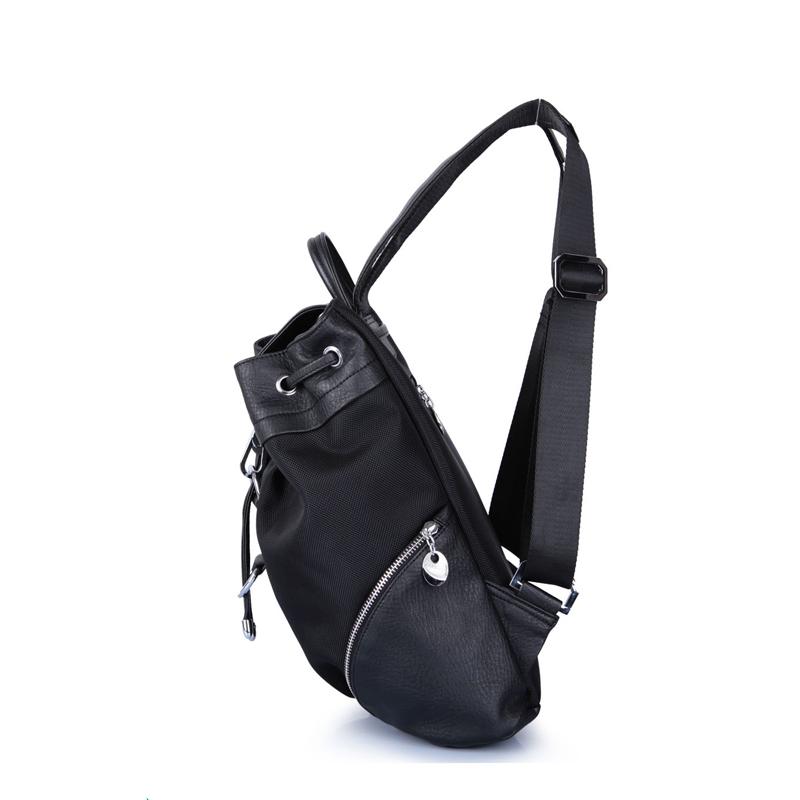 mochilas Free customized design women nylon school backpacks classic trendy college anti theft fashion girl smart travelling backpack bag