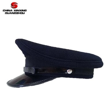 5776a59dccb395 Navy Blue Color Military Officer Cap - Buy Military Style Caps,Wool ...