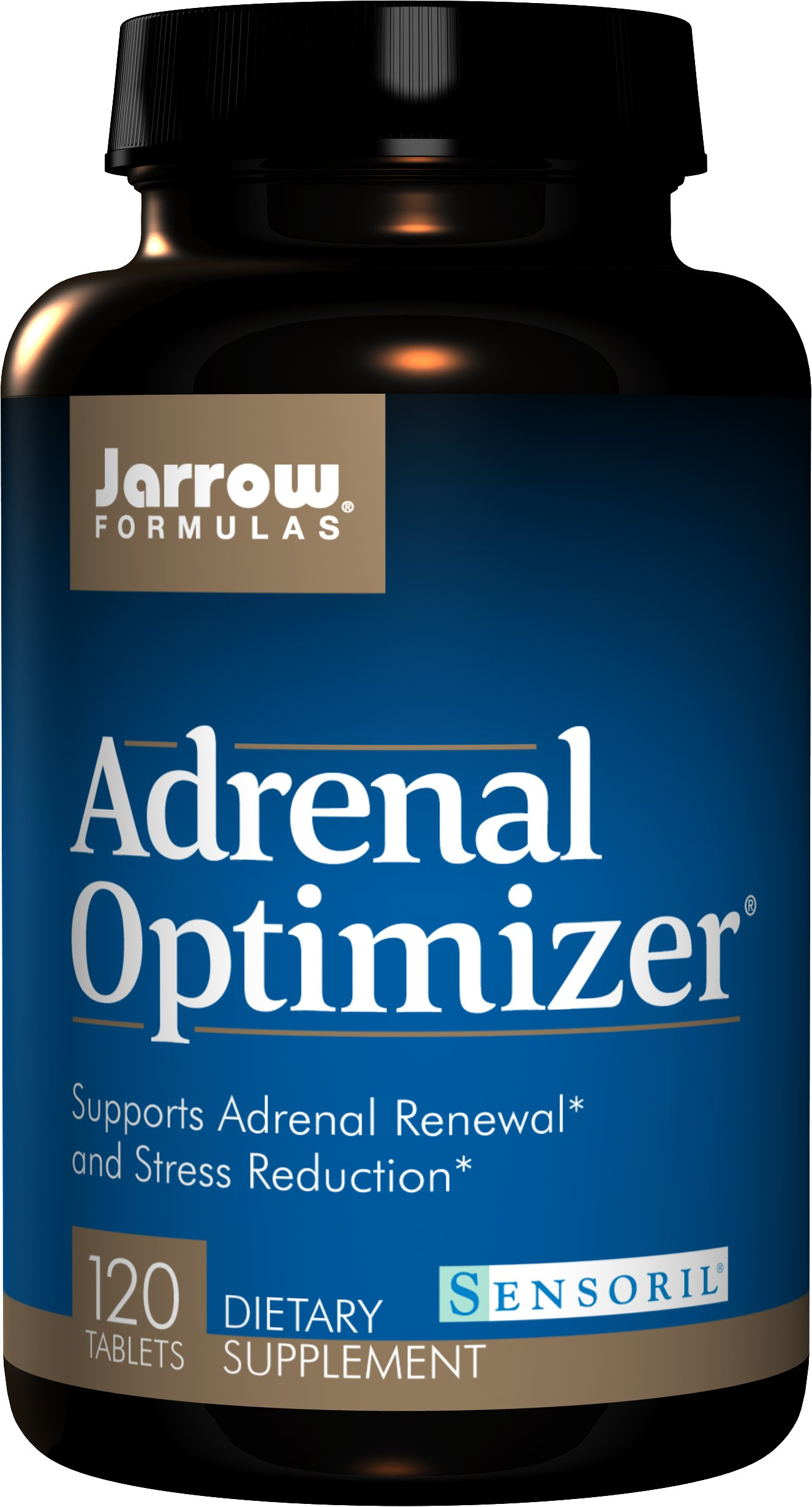 Jarrow Formulas Adrenal Optimizer, Supports Adrenal Renewal  and Stress Reduction, 120 Tabs