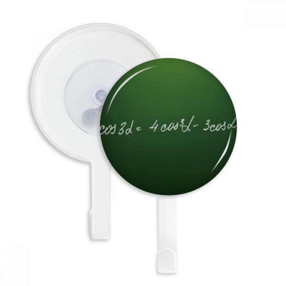 Math Kowledge Cosine Formula Sucker Suction Cup Hooks Plastic Bathroom Kitchen 5pcs Gift
