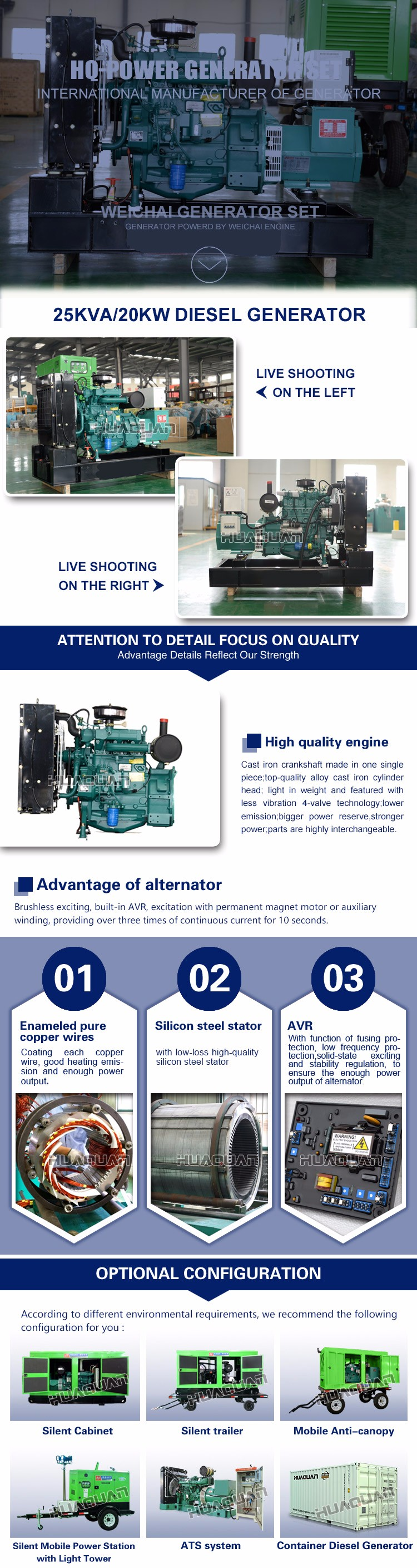 Electric Power 20kw 25kva Fuel Less Generator India Price Buy